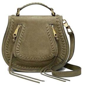 Rebecca Minkoff Vanity Saddle Bag Olive Green
